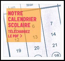 Calendrier en PDF